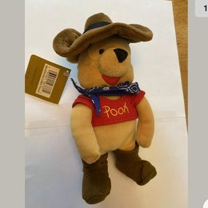 Disney Retired Cowboy Pooh